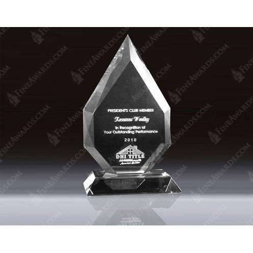 Clear Crystal 3D Diamond Award