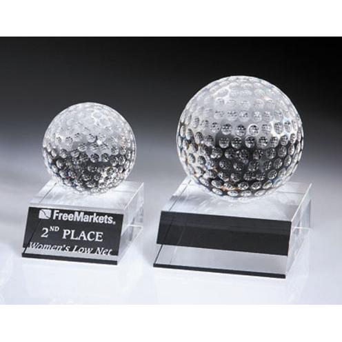 Clear Crystal Desk Top Paperweight