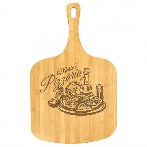 Brown Bamboo Pizza Board
