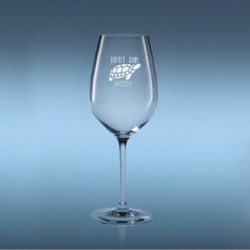 16oz Optical Crystal Domaine Tulip White Wine Glass