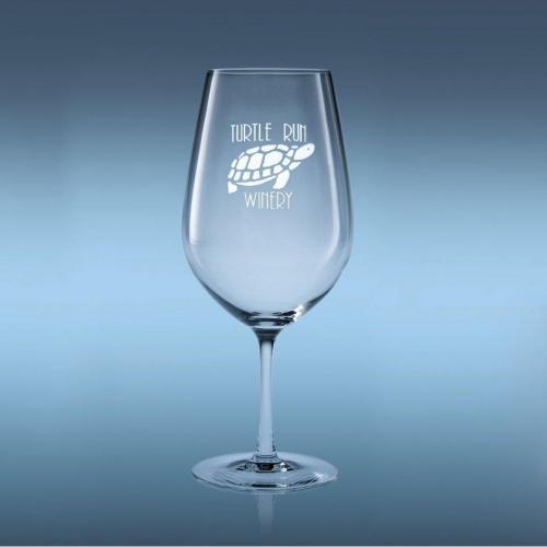 26oz Optical Crystal Domaine Bordeaux Wine Glass