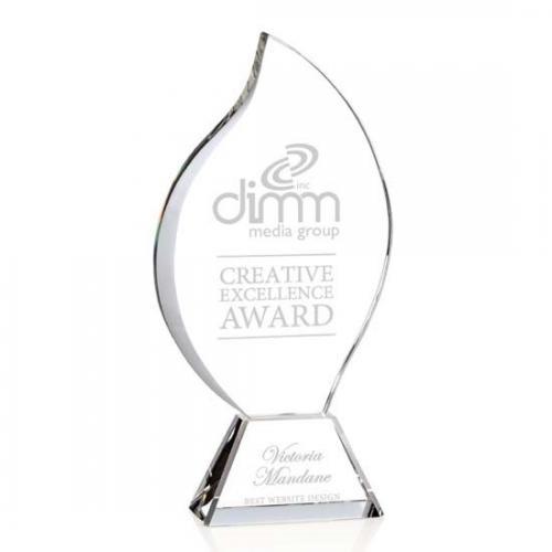 Norina Optical Crystal Flame Award