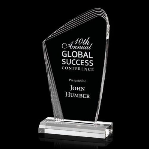 Clear Acrylic Simberg Award