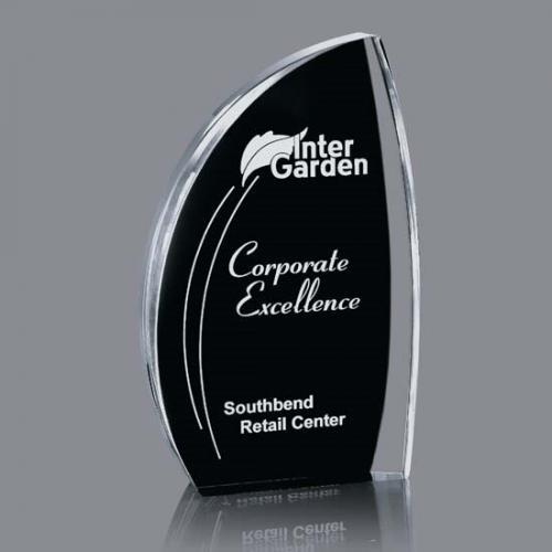 Black & Clear Acrylic Duncan Award