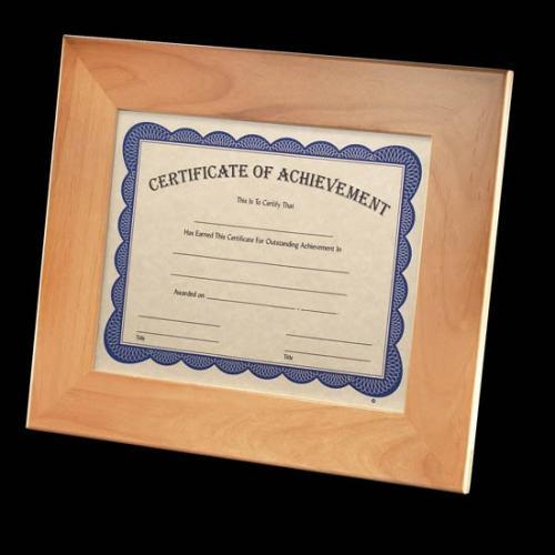 Milicroft Red Alder Certificate Holder