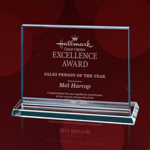 Algoma Horizontal Starfire Glass Award