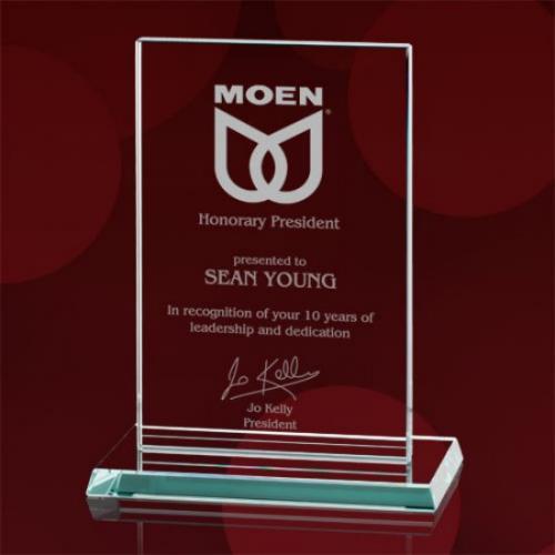 Algoma Vertical Starfire Glass Award