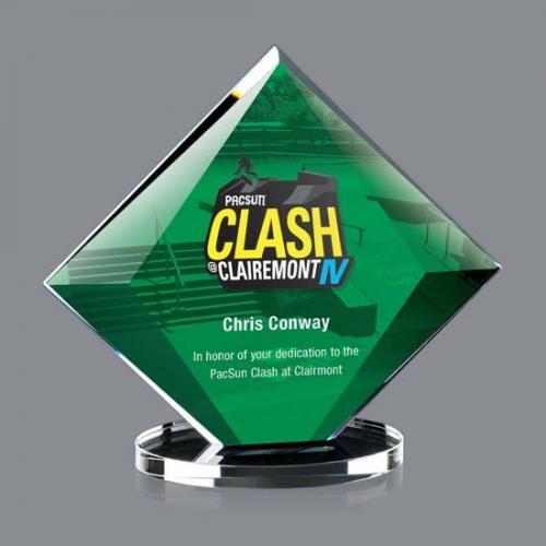 Green Starfire Diamond Teston Award