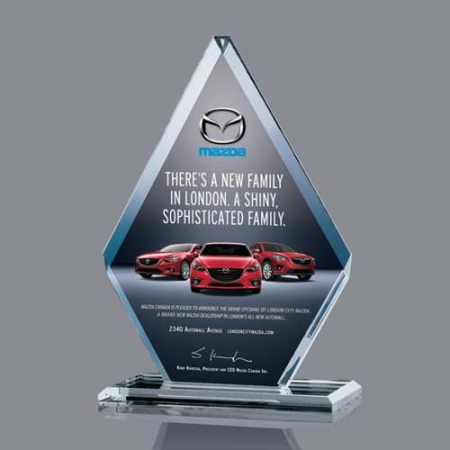 Canton Starfire Crystal Diamond Award