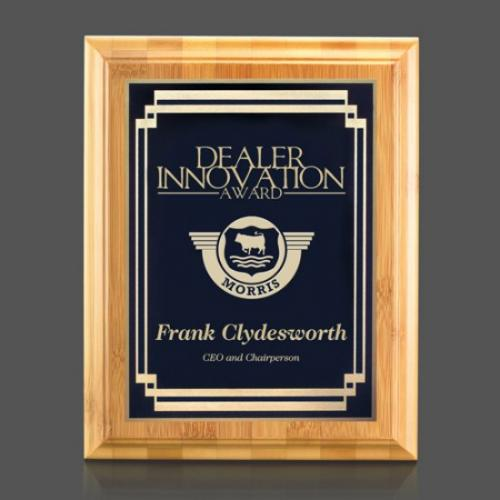 Dark Blue Bamboo Marquis Award