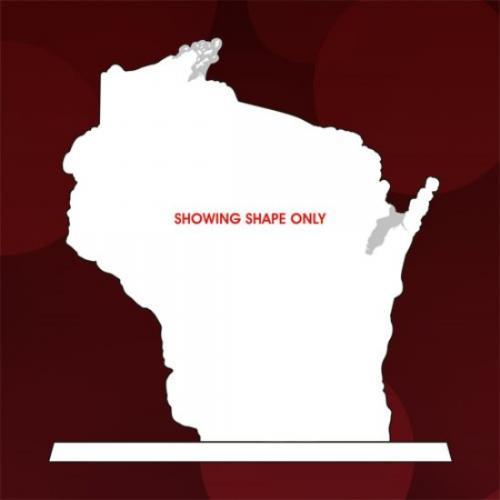 State of Wisconsin White Jade Glass Award