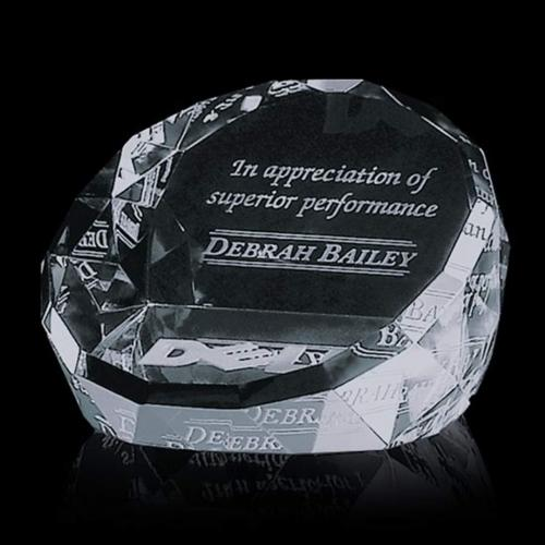 Chiltern Paperweight - Clear