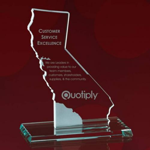 State Map Award -  California