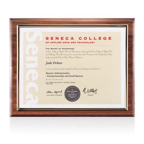 Sedgewick Certificate Holder