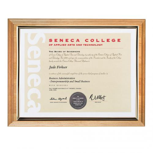 Erindale Certificate Holder