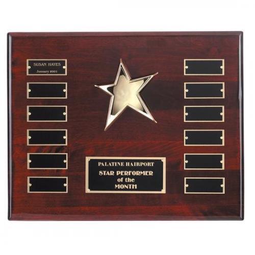 Rising Star Stone Trophy Award on Royal Base