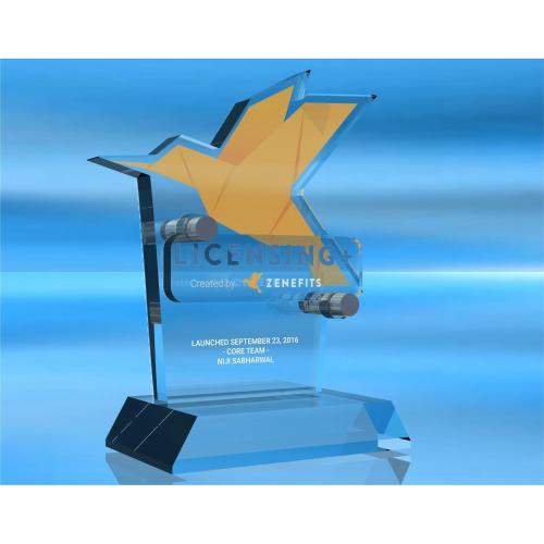 Zenefits Launch Award