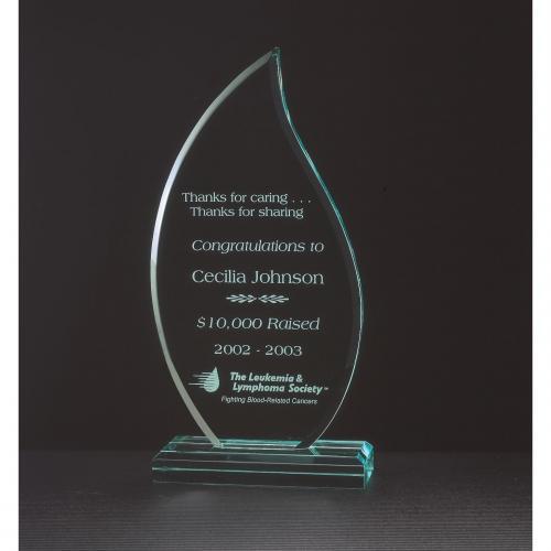 Zenith Acrylic Flame Awards