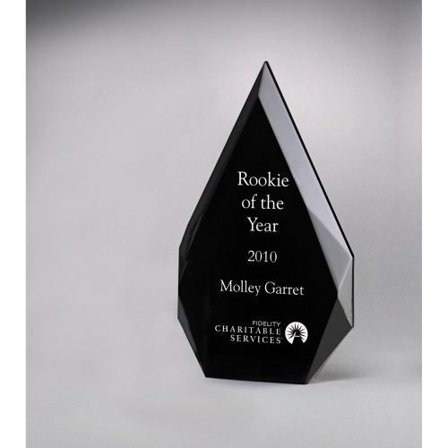 Diamond Series Black Acrylic Freestanding Awards