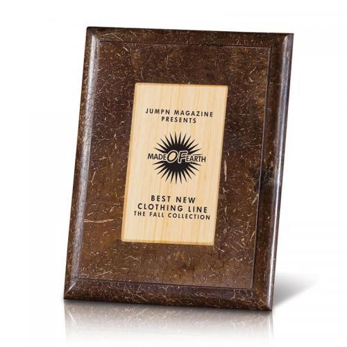 Brown Coconut Shell & Bamboo Natura Inset Award