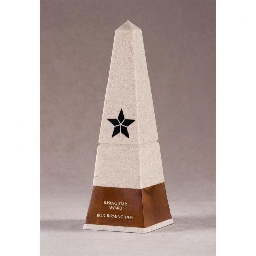 Sandia Fine Granite & Wood Obelisk Short Award