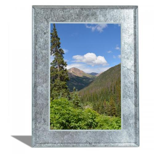 Silver Leaf Vertical Photo Frame