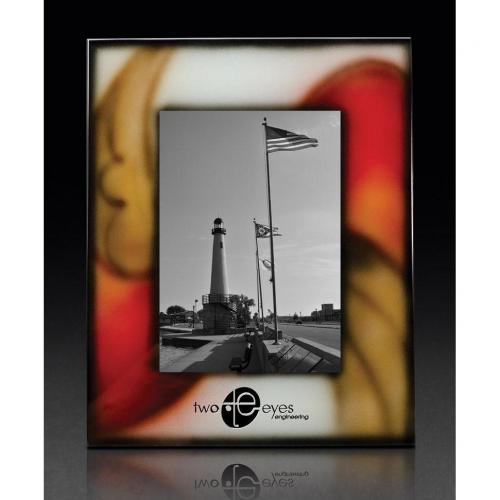 Solstice Art Glass Frame