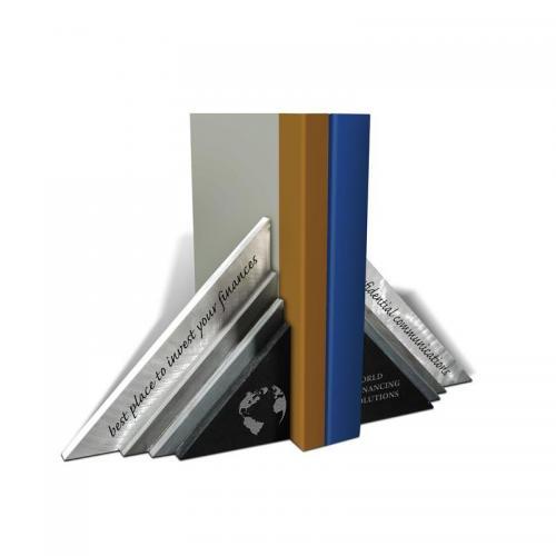 Tri-Ends Black Marble & Aluminium Award