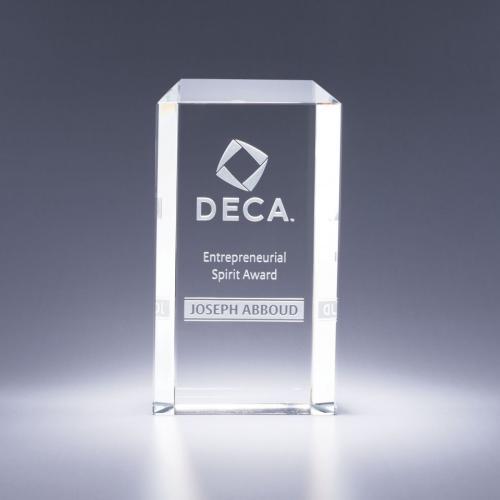 Clear Optical Crystal Entrpreneur Award