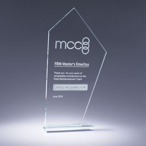Clear Optical Crystal Altitude Award