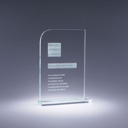 Clear Optical Crystal Current Professional Recognition Award