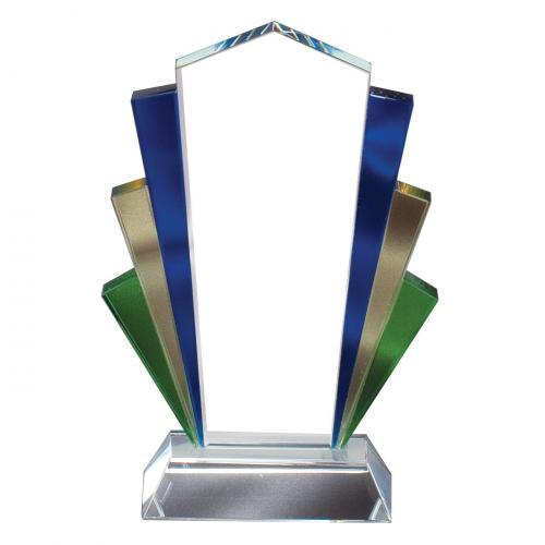 Multi Color Glass Marquee Award
