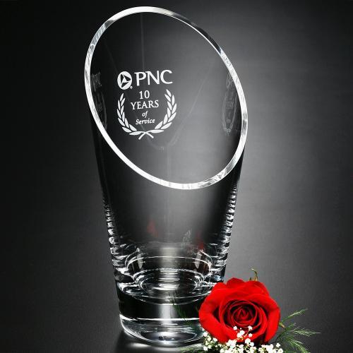 Westcott Optical Crystal Vase