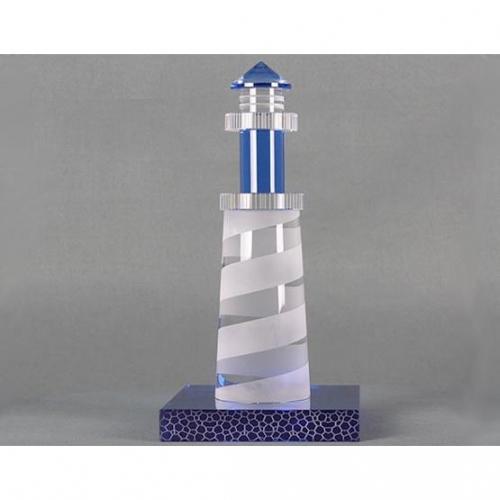 The Custom Crystal Lighthouse Award
