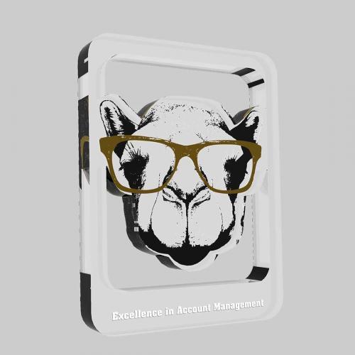 Desert Camel Custom Acrylic Plaque