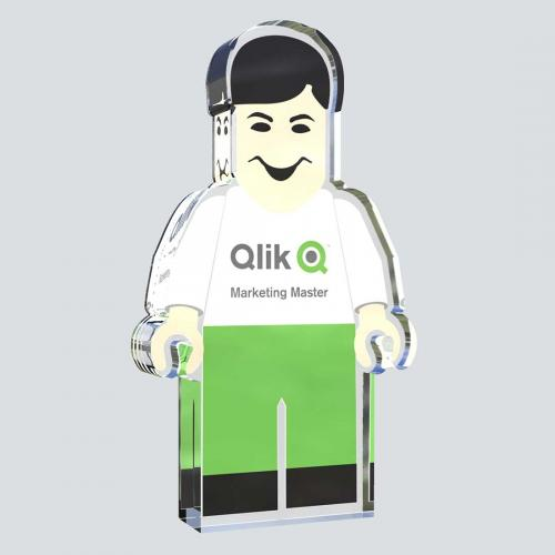 Qilk Software Custom Acrylic Award
