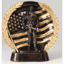 High Relief Series Resin Military Award
