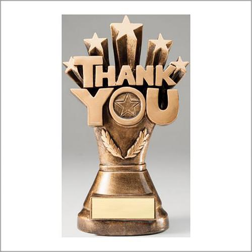 Thank You Resin Recognition Award