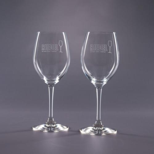 Clear Optical Crystal 12oz. Traveler Riedel White Wine Glass Retirement Gifts