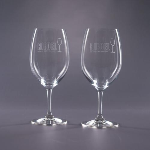 Clear Optical Crystal 22.75oz. Riedel Traveler Bordeaux Glass Retirement Gifts