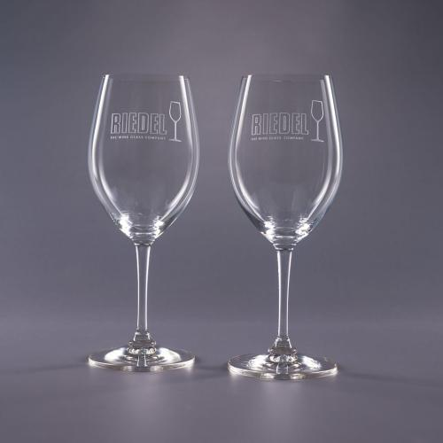 Clear Optical Crystal 19.75oz. Riedel Traveler Bordeaux Glass Retirement Gifts