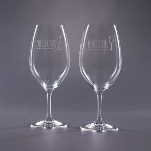 Clear Optical Crystal 21.5oz. Riedel Traveler Cabernet Retirement Gifts