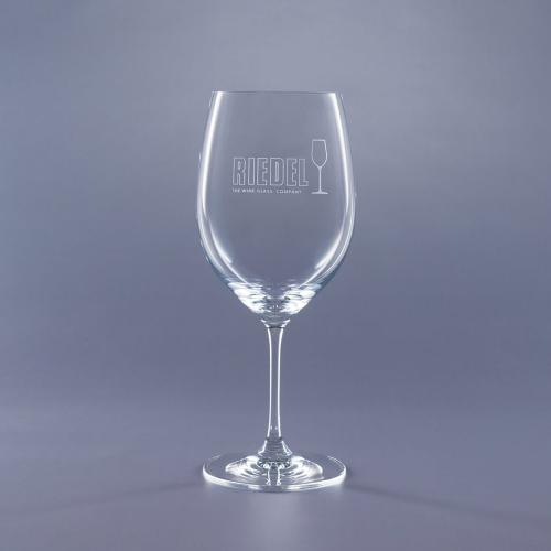 Clear Optical Crystal 21.5oz. Riedel Crystal Bordeaux Vinum Retirement Gifts