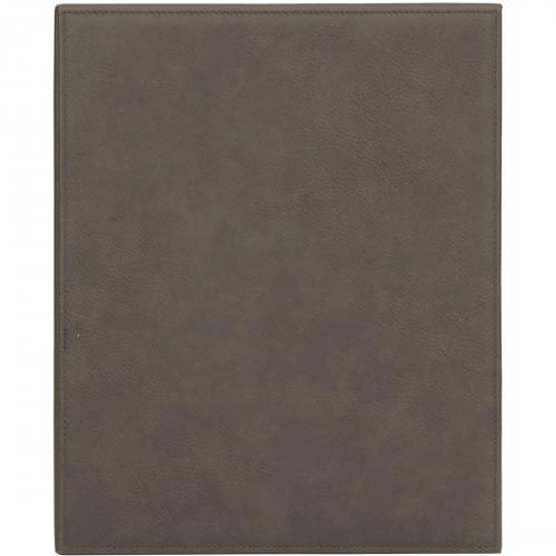 Gray Engraves Black Leatherette Plaque