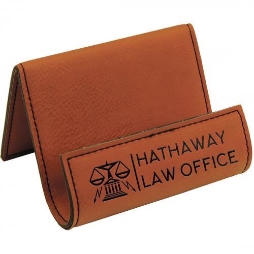 Rawhide Leatherette Desk Phone Holder