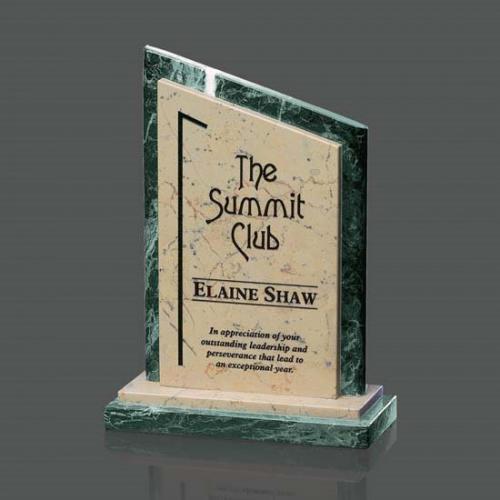 Eton Marble Trophy Award with Base