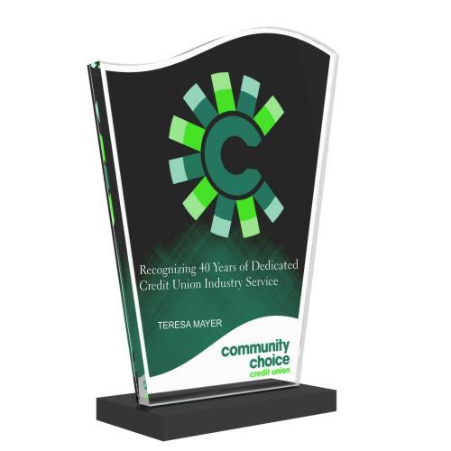 Community Choice Custom Acrylic Award