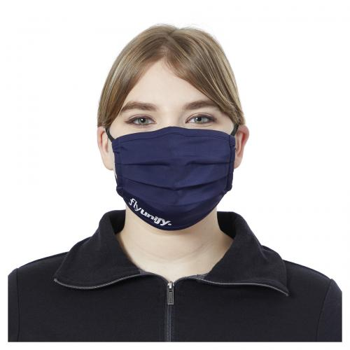 Customizable Color Polyester U-Pleated Promotional Product Eco Face Mask