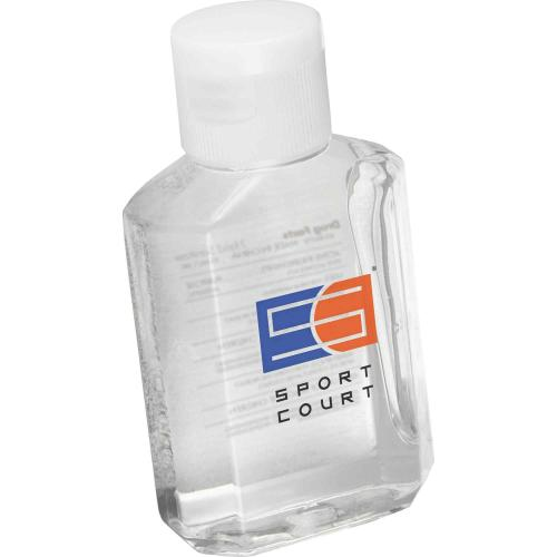 Clear 2oz Squirt Hand Sanitizer Bottle Promotional Product