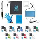 Customizable Color Out and About Promotional Marketing Safety Kit
